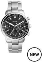 Fossil Fossil Mens Chronograph Watch Stainless Steel Braclet, Black Dial