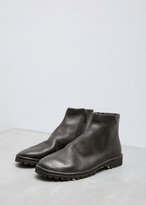 Marsèll nero gomme santacco zip boot