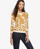 Ann Taylor Petite Leaf Petal Sweater