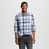 Mossimo Men's LS Woven Navy Plaid