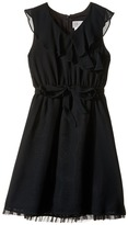Us Angels Sleeveless Ruffle Front Waisted Dress (Big Kids)