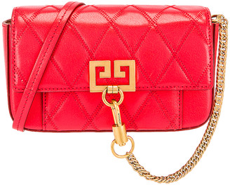 Givenchy Mini Pocket Chain Bag in Red | FWRD