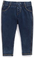 Tucker + Tate Denim Look Leggings (Baby Girls)