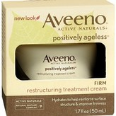 Aveeno Active Naturals Positively Ageless Restructuring Treatment Cream, Firm