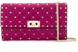 Valentino Garavani Rockstud Spike crossbody clutch bag