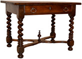 One Kings Lane Vintage 19th-C. French Walnut Library Table - Black Sheep Antiques