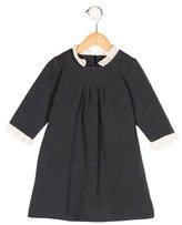 Lili Gaufrette Girls' Ruffle-Trimmed Long Sleeve Dress
