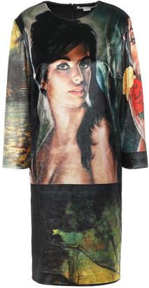 Stella McCartney Printed Velvet Mini Dress