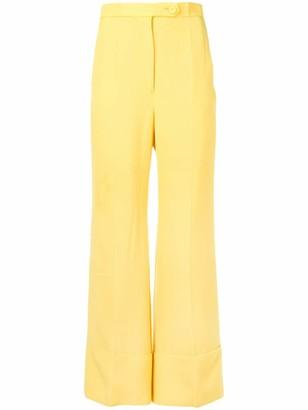 Sara Battaglia Bootcut Trousers