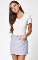 PacSun Lavender Corduroy Mini Skirt