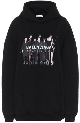Balenciaga Real cotton hoodie
