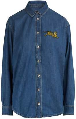 Kenzo Denim Tiger shirt