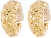 Simon Sebbag 24K Vermeil Clip Earrings
