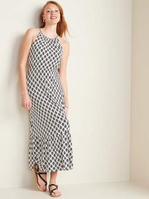 Old Navy Fit & Flare Jersey-Knit Maxi Dress for Women