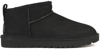 UGG Black Mutton Classic Ultra Mini Ankle Boot