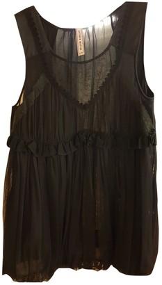Antonio Marras Black Lace Top for Women Vintage