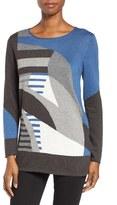 Nic+Zoe Women's Sunbent Cotton Blend Sweater