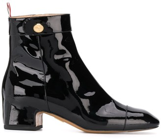 Thom Browne Block-Heel 50mm Ankle Boots