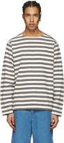 Acne Studios Ecru Striped Nimes T-shirt