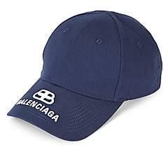 Balenciaga Men's BB Logo Baseball Cap