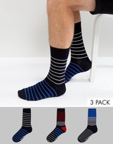 Ben Sherman 3 Pack Sock