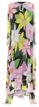 Richard Quinn Hannah floral chiffon gown