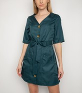 New Look Gini London Button Belted Dress