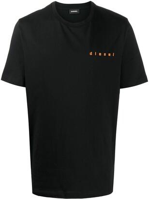 Diesel logo print short sleeve T-shirt