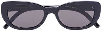 Saint Laurent Betty oval cat-eye sunglasses