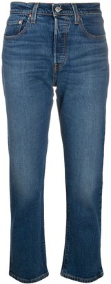 Levi's High-Rise Cropped Jeans
