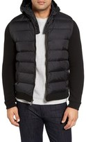 Woolrich Quilted Sweater Jacket