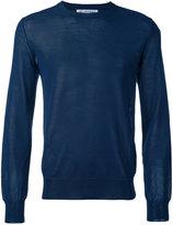 Comme Des Garçons Shirt - crew neck sweater - men - Cotton/Acrylic/Polyamide - M