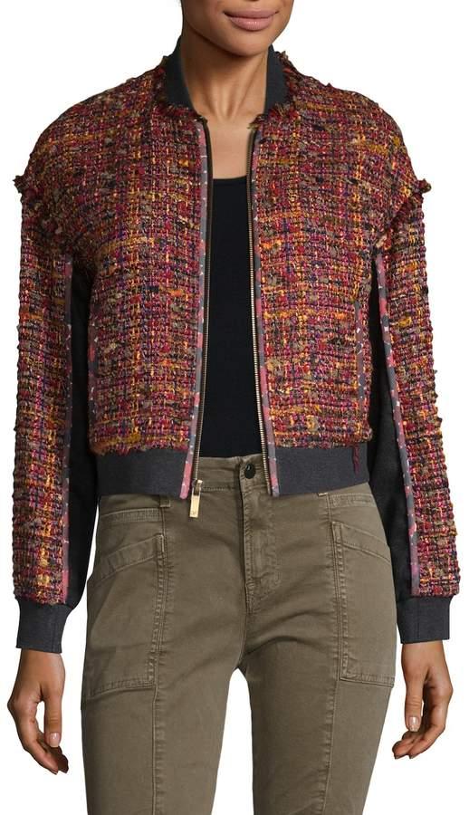 Diane von Furstenberg Women's Bayler Cotton Jacket