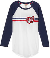 PINK Washington Nationals Bling Perfect Baseball Tee