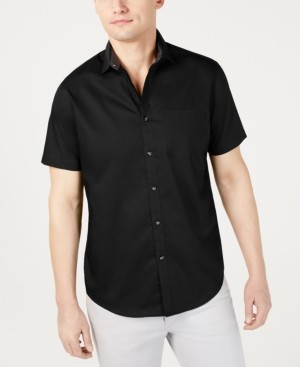 INC International Concepts Inc Men's Short-Sleeve Pocket Shirt, Created for Macy's