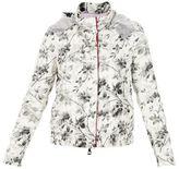 """Moncler Gamme Rouge White Flower Print """"gobi"""" Jacket"""