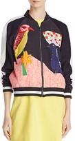 Alice + Olivia Felisa Embellished Bomber Jacket