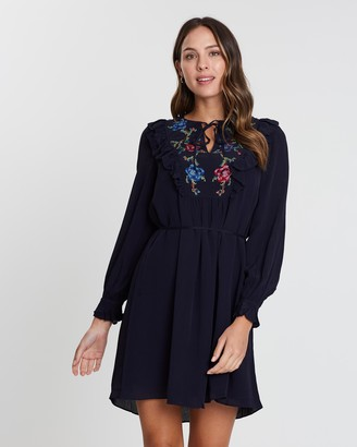 French Connection Elishia Solid Dress