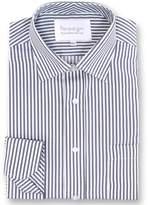 Double Two Paradigm Single Cuff Pure Cotton Non-iron Shirt
