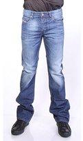 Diesel Mens Zatiny Slim Bootcut Jeans,
