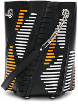 Proenza Schouler Mini Hex Leather Bucket Bag