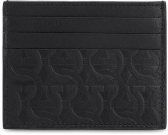 Salvatore Ferragamo LOGO EMBOSSED LEATHER CARD HOLDER
