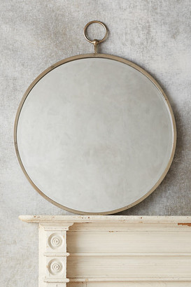 Anthropologie Hoop Mirror By in Brown Size ALL