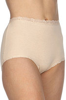 Cotillion Cotton Lace-Trim Brief