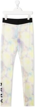 DKNY TEEN tie-dye trousers