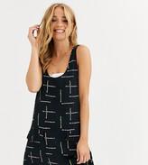 Life Is Beautiful LIFE IS BEAUTIFUL sleeveless logo dress with pockets