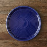 Crate & Barrel Farmhouse Blue Dinner Plate