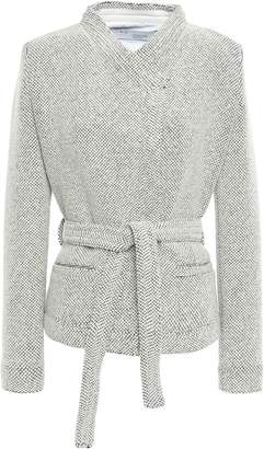 IRO Wool-blend Jacquard Blazer