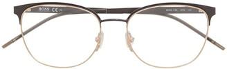 HUGO BOSS Logo Square Glasses