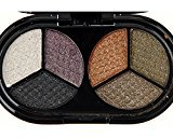 HUBEE 6 Colors Fashion Eye Shadow Makeup Glitter Powder Pigment Matte Eyeshadow Palette